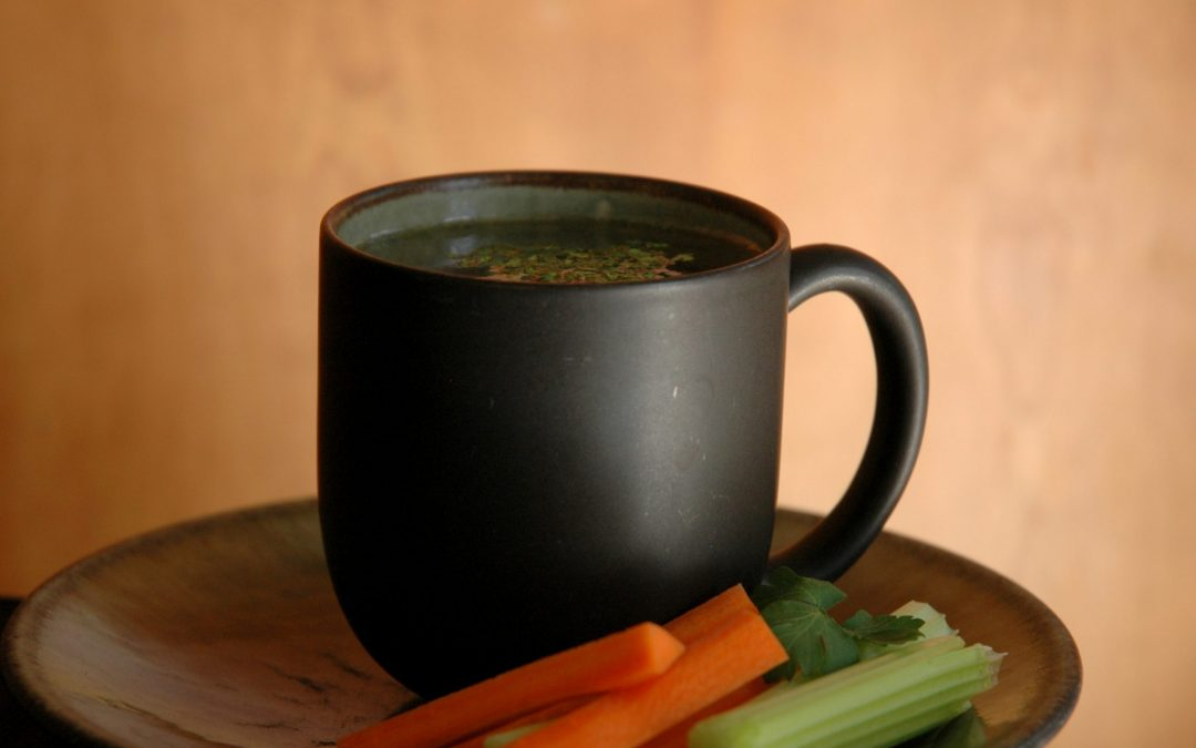 Making Super-Simple & Nutritious Chicken Stock- in 5 minutes!