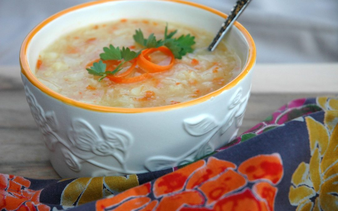 Cauliflower, Carrot & Potato Soup
