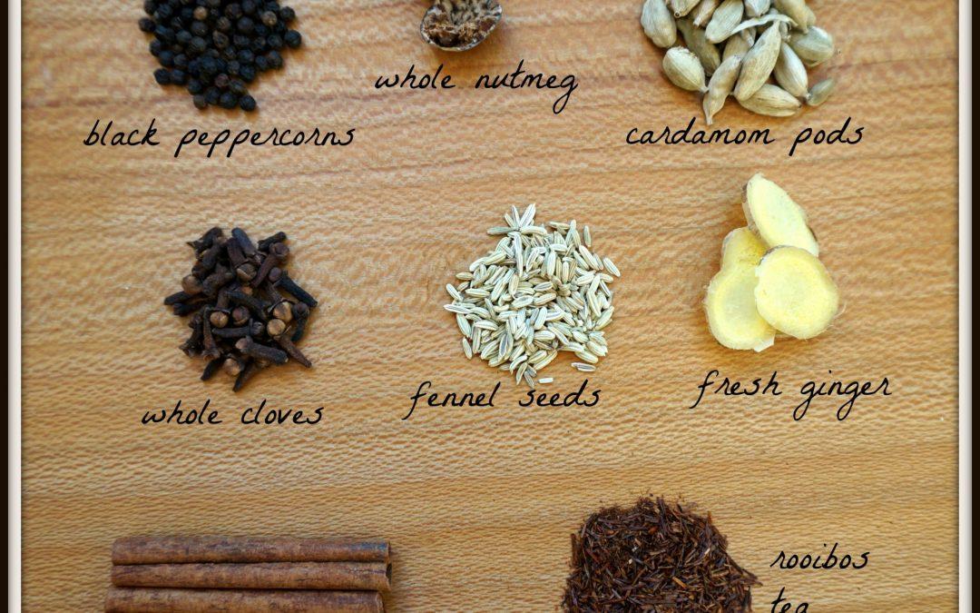 Homemade Rooibos Chai Tea