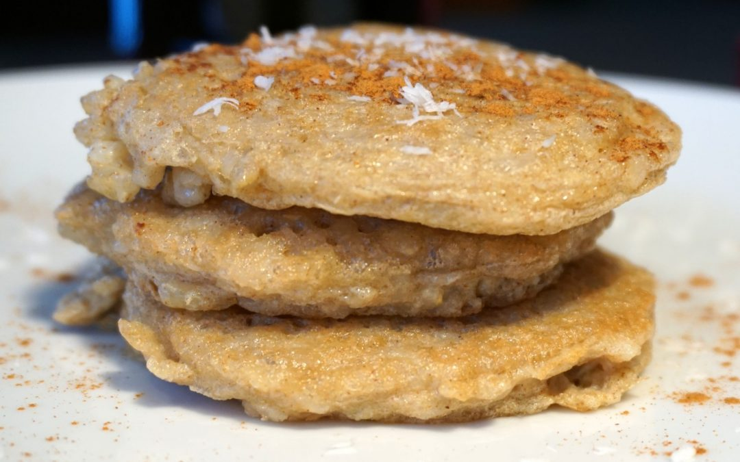 Whole Grain Brown Rice Pancakes