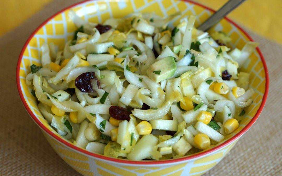 Jeweled Endive, Avocado & Corn Salad