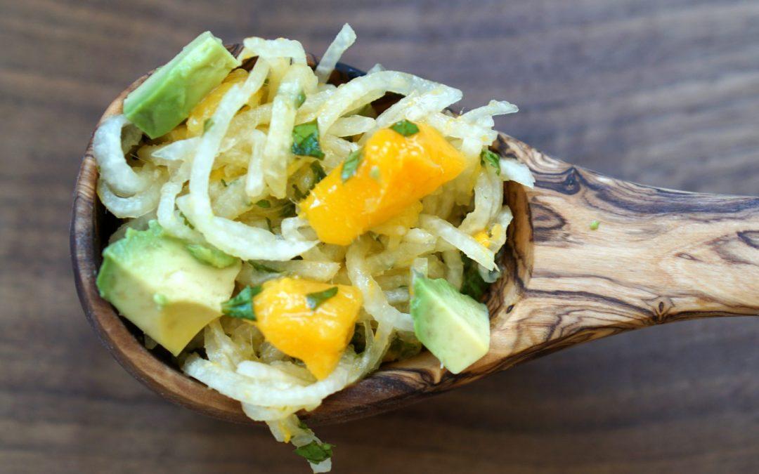 Summer Jicama Salad with Mango, Avocado & Cilantro