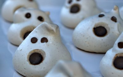 'Twas the Night Before Halloween- Ghostly Cookies
