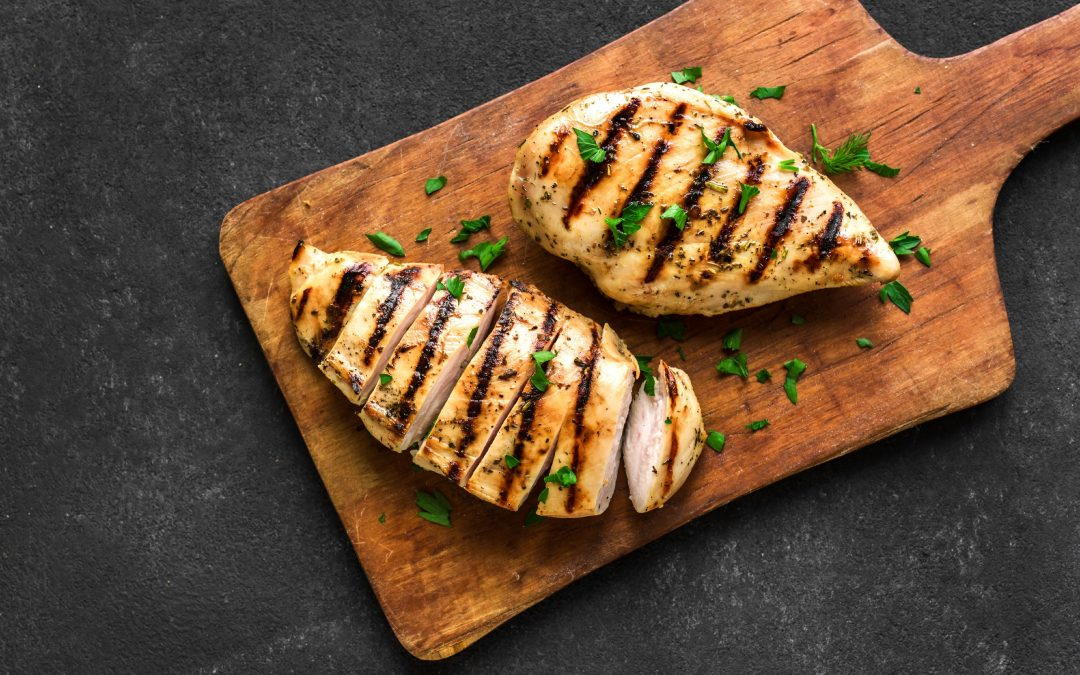 4-Ingredient Balsamic Grilled Chicken