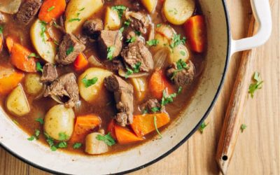 Savory Slow Cooker Beef Stew