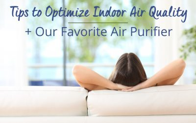 The Inside Scoop: Tips to Optimize Indoor Air Quality (+ Our Favorite Air Purifier)